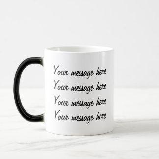 Secret Message  morphing mug  template