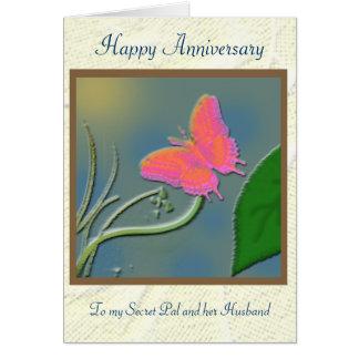 Secret Pal anniversary Greeting Card