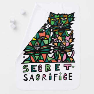"""Secret Sacrifice"" Baby Blanket"