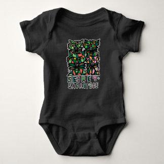 """Secret Sacrifice"" BuddaKats Baby Jersey Bodysuit"