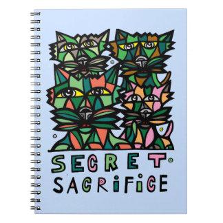 """""""Secret Sacrifice"""" Spiral Notebook"""