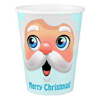 Secret Santa Christmas Party Paper Cup