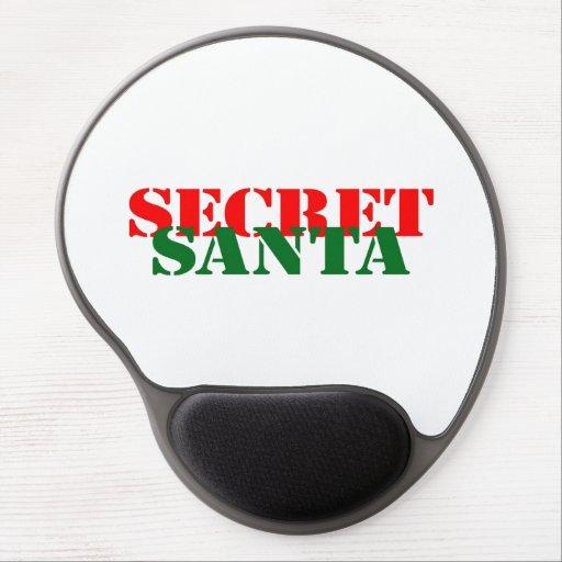 Secret Santa Gel Mouse Pads