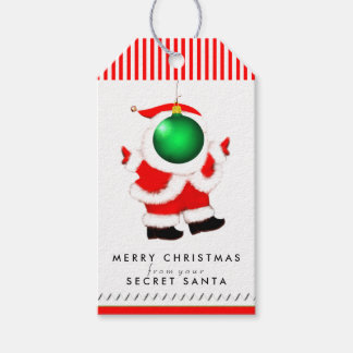 Secret Santa ideas Pack Of Gift Tags