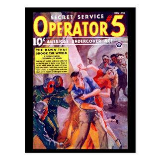 Secret Service Operator 5 - Nov-Dec 1938a_Pulp Art Postcard