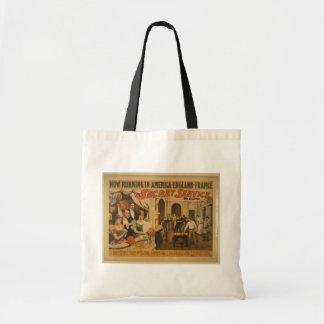 Secret Service Vintage Theater Tote Bag
