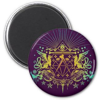 Secret Society 2 Inch Round Magnet