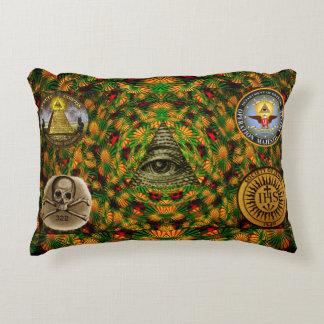 Secret Society Accent Pillow