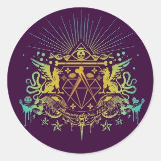 Secret Society Classic Round Sticker
