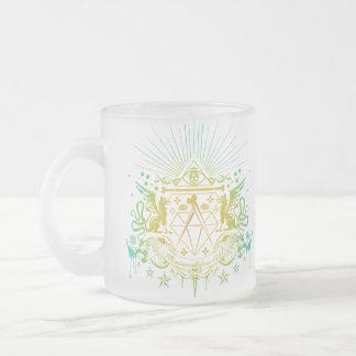 Secret Society Frosted Glass Mug