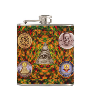 Secret Society Hip Flask