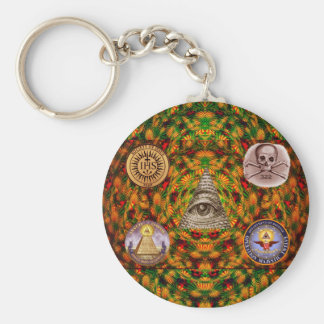 Secret Society Keychain
