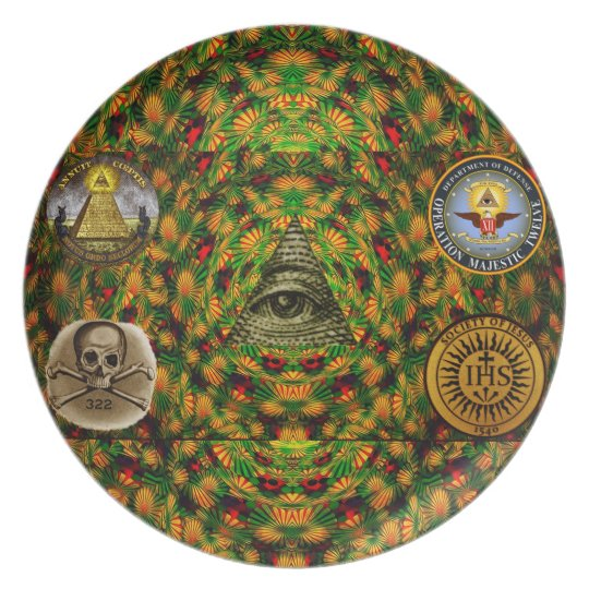 Secret Society Plate