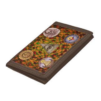 Secret Society Tri-fold Wallets