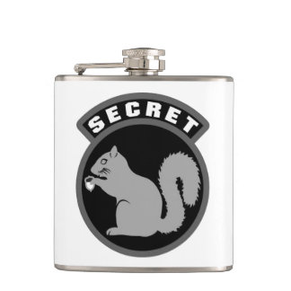 Secret Squirrel Flask