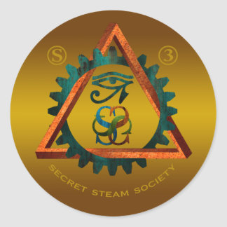 Secret Steam Society Sticker
