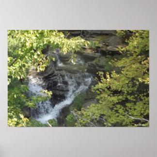 Secret Waterfall Print