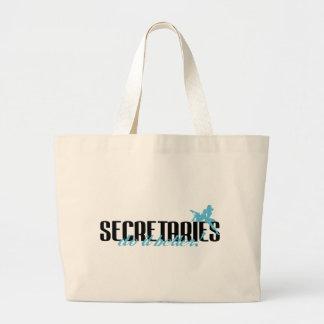 Secretaries Do It Better! Canvas Bags