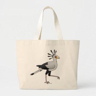 Secretary Bird Jumbo Tote Bag