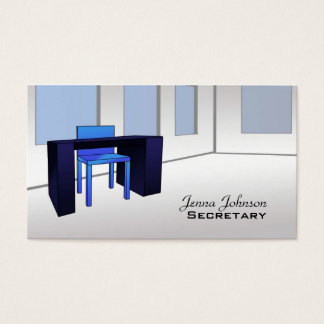 Secretary business cards