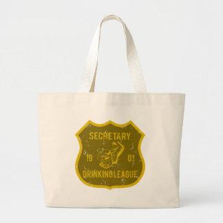 Secretary Drinking League Bag
