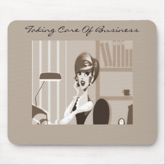 Secretary Girl Alicia Mouse Pad
