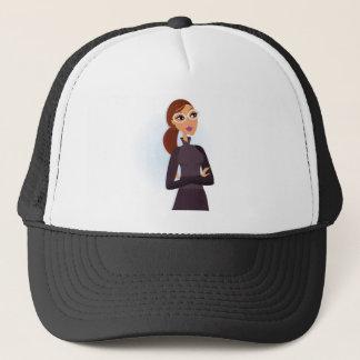 Secretary grey Original design : Tshirts Trucker Hat