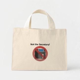 Secretary Mini Tote Bag