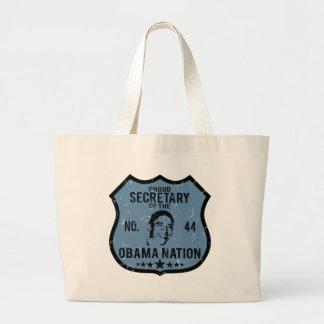 Secretary Obama Nation Tote Bags