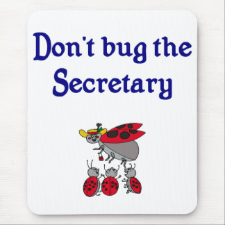 Secretary or Admin Assistant Mousepad