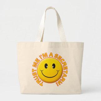 Secretary Trust Me Canvas Bag
