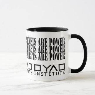 Secrets Are Power - Dyad Institute - Orphan Black Mug