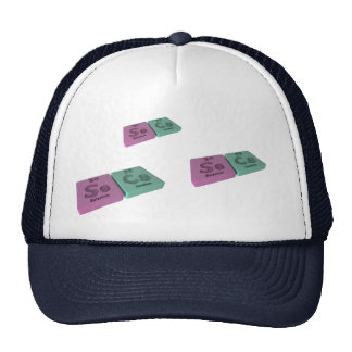Secs as Se Selenium and Cs Caesium Hats