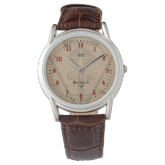 Section D Classic Leather Watch