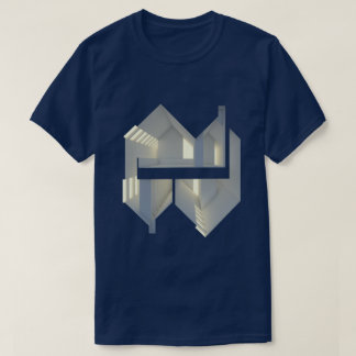 Section Reflection 01 Architecture concept art T-Shirt