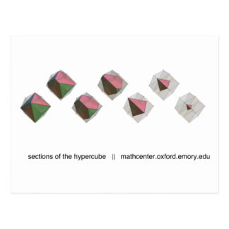Sections of the Hypercube Postcard