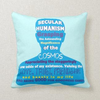 Secular Humanism Pillow