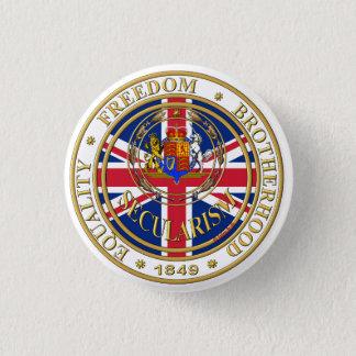 secularism united kandom 1 inch round button