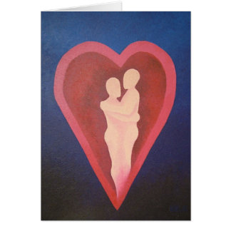 Secure in the Embrace of Real Love Card