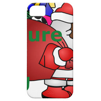 secure the bag black santa case for the iPhone 5