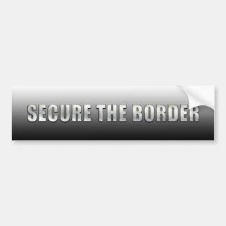 Secure The Border Bumper Sticker