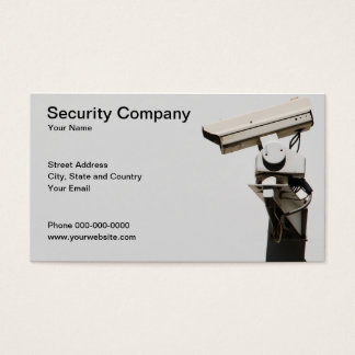 Security Business Card