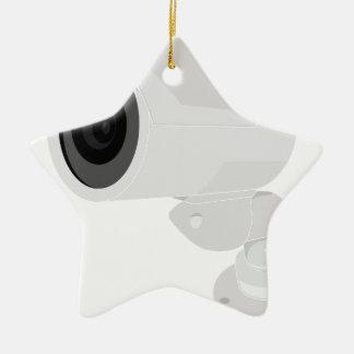 Security Camera Ceramic Ornament