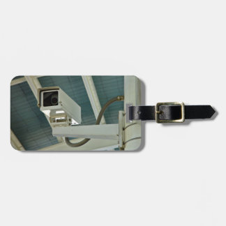Security camera luggage tag