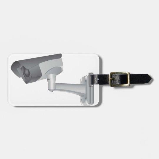 Security camera luggage tag