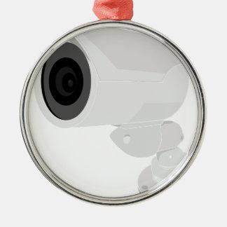 Security Camera Metal Ornament