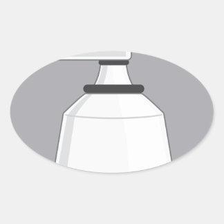 Security Camera Oval Sticker