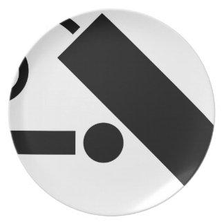 Security Camera Plate