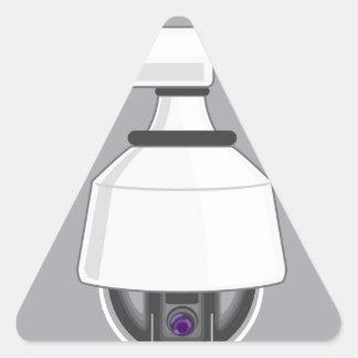 Security Camera Triangle Sticker