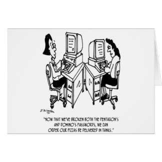 Security Cartoon 4348 Card